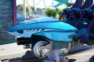 Mako at SeaWorld Orlando ride vehicle reveal