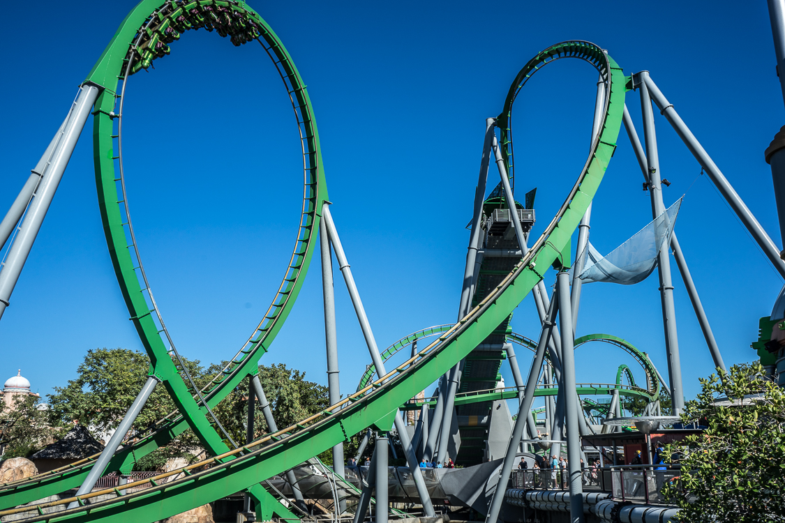 The Incredible Hulk Coaster At Universal S Islands Of Adventure