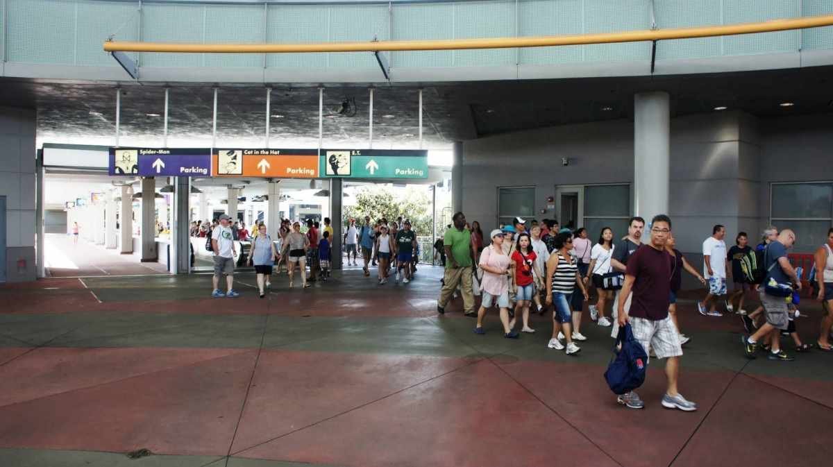 Parking Guest Drop Off And The Universal Orlando